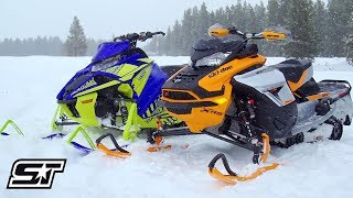 2019 4-Stroke Turbo Comparison: Yamaha VS Ski-Doo