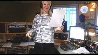 Zoe Ball goes all Northern Soul on The Chris Evans Breakfast Show - Tues 27th May