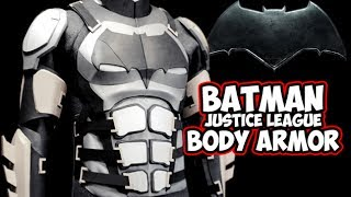 Batman Justice League costume Armor Cosplay build