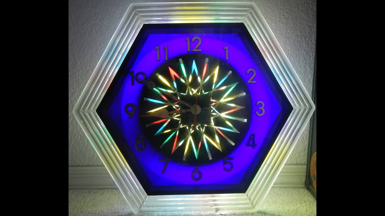 Kaleidoscope light wall clock psychedelic starburst youtube kaleidoscope light wall clock psychedelic starburst amipublicfo Gallery