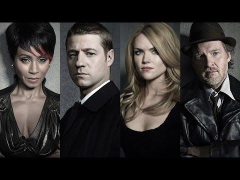 Gotham - Jada Pinkett Smith, Ben McKenzie, Donal Logue, Erin Richards Interview - Comic Con 2014