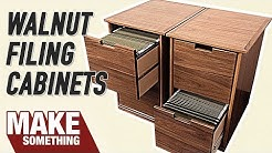 How to Make a Filing Cabinet   Easy Woodworking Project
