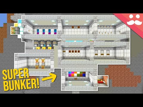 The Most Secure Bunker In Minecraft