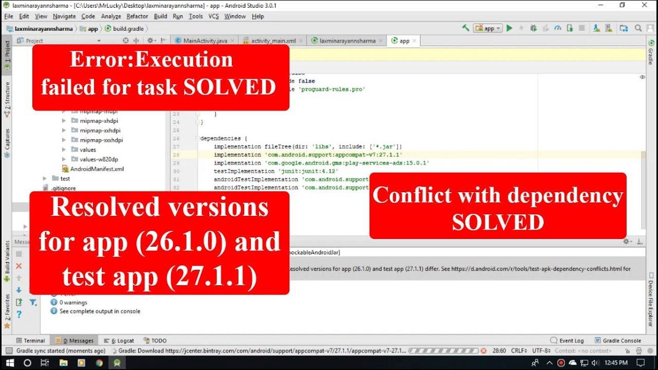 Gradle Sync Failed Createprocess Error 2 The System Cannot