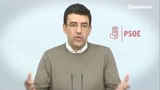Javier Fernández propondrá una fecha para el Congreso del PSOE tras reunirse con los