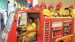 Fireman Sam - Making Money and Having Fun at Kidzania Dubai