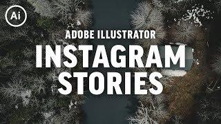 Yaratıcı İnstagram Hikayeleri | Illustrator CC eğitim Yapmak için nasıl