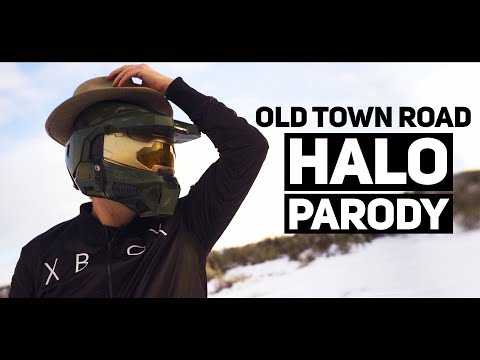 Ghost Town Road - OLD TOWN ROAD HALO PARODY (Lil Nas X Billy Ray Cyrus)