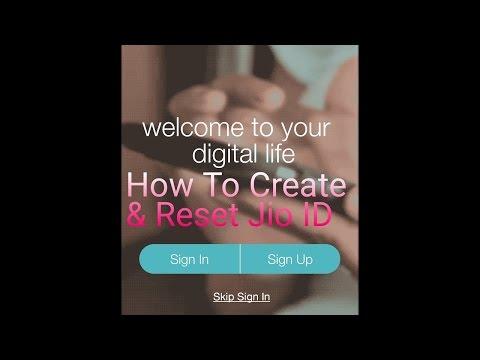 How to create a jio Id