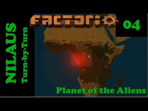 Lets Play Factorio S5E04 - Africa is ours and the first few robots