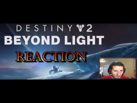 Reaction To Destiny 2 Beyond Light Trailer |