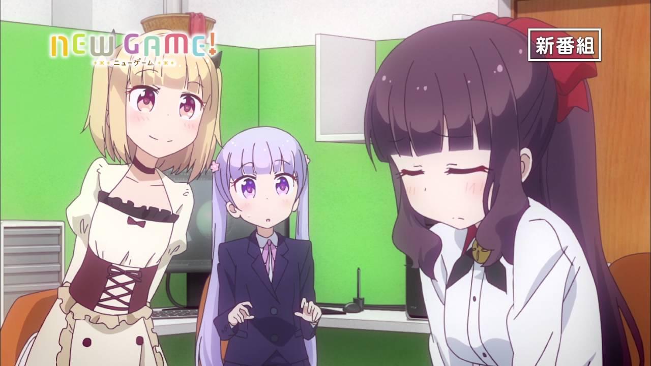 TVアニメ「NEW GAME!」番宣CM15秒Ver. @nganime #ニューゲーム - YouTube
