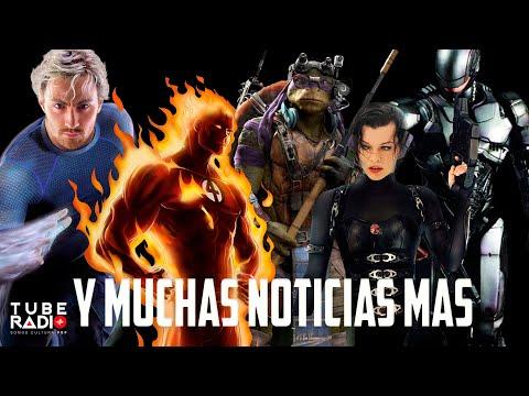 Tube Radio: Quicksilver Regresará, reboot Tortugas Ninja, La Antorcha Humana, Cancelan Krypton.