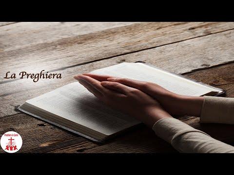 LA PREGHIERA con testo Musica Cristiana e Canti Religiosi di Preghiera in Canto