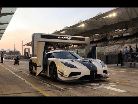 Tracking Our Koenigsegg at Yas Marina Circuit! *REAL LIFE FORZA*