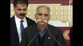 Seyit Rıza'nın torunu Rüstem Polat ve Zeynel Çavuş'un torunu Hüseyin Akgün ile basın toplantımız..