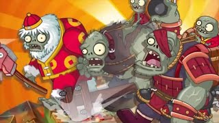 All World Zombots Vs Firebloom Queen - Plants Vs Zombies 2