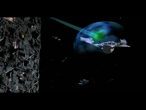 Star Trek 8 First Contact - Borg Battle HD