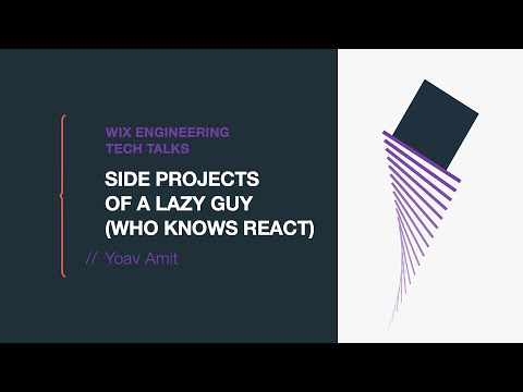 Side Projects of a Lazy Guy (who knows React) - Yoav Amit