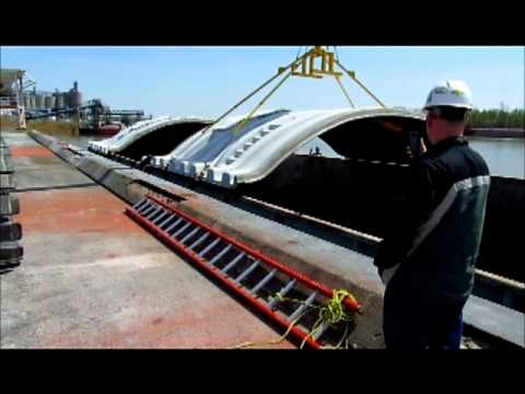Barge lid addaptor