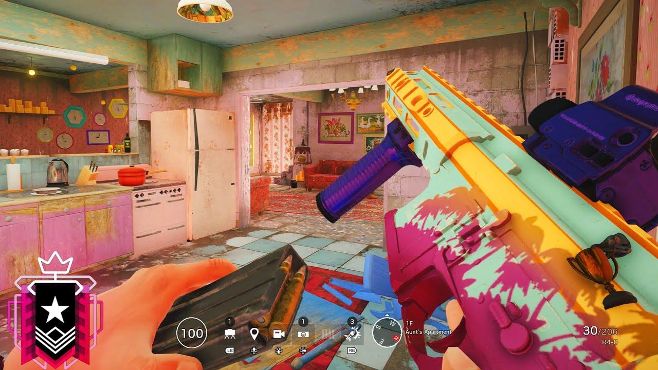 The 𝘽𝙀𝙎𝙏 Spawn Peek in Rainbow Six Siege - Champion Console