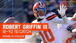 RGIII Connects with Seth DeValve for the TD! | Browns vs. Steelers| NFL Week 17 Highlights