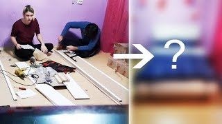 Making a bed | Constructing a bed | Mounting a bed | Foreigner Love