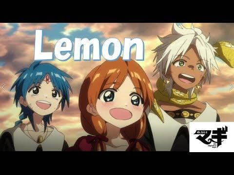 MAD#Lemon 再アップになります。アカウントも変わりましたので、よろしくお願いします。 マギを【Lemon】に合わせました。原曲は米津玄師さんにな...