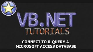 VB.NET Access Database Tutorial [SEGMENTED] Connect & Query MS Access Database [1 Of 4]