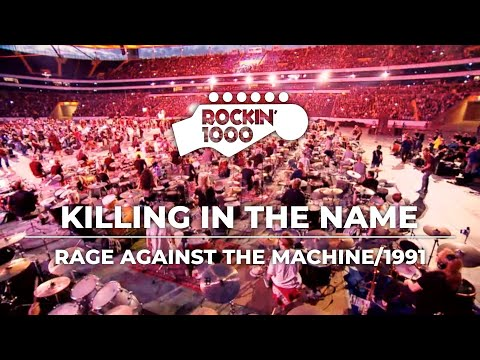 1,000 musicians gather to play Rage Against the Machine hit