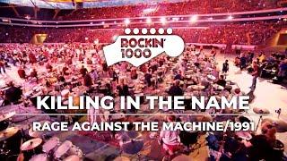 Killing In The Name  Rage Against The Machine / Rockin'1000 in Frankfurt