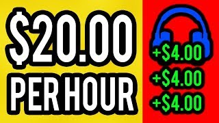 EARN $23.48 Listening To MUSIC! (FREE & EASY)