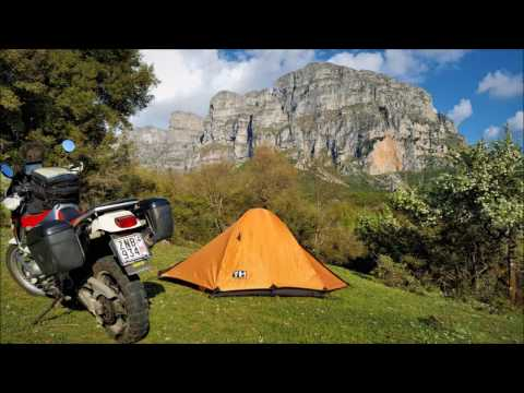 4 days trip on africa twin