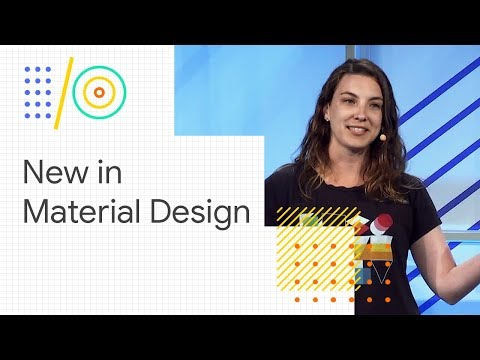 How to incorporate what's new with Material Design in your code base (Google I/O '18)