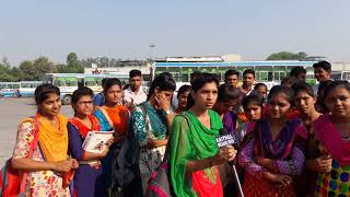 Girls facing problem in   haryana Roadways  2017 .. hindi
