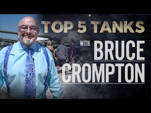 Top 5 Tanks - Bruce Crompton | Combat Dealers | Tank Museum