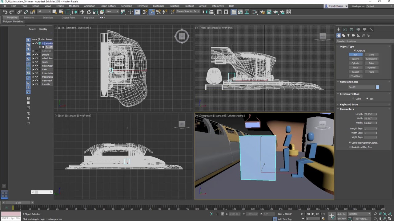 3ds Max Getting Started - Lesson 01 - Touring the UI - YouTube