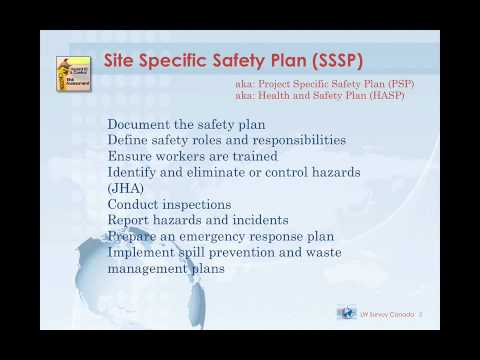 Module 6 Site Specific Safety Plans, JHAs and FLRAs - YouTube