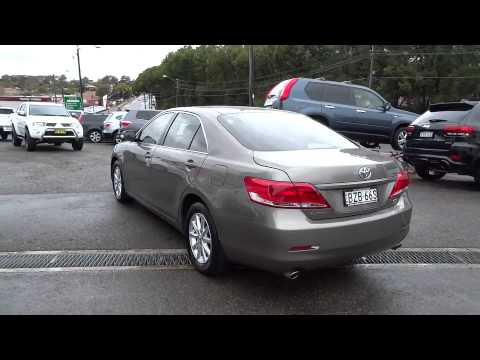 2011 TOYOTA AURION Ryde, Sydney, New South Wales, Top Ryde ...