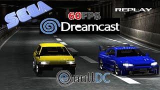 Tokyo Xtreme Racer 2 Dreamcast 16:9 HD 60fps nulDC (Genki, 2000)