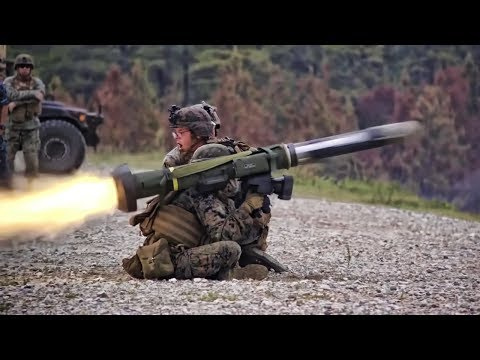 Marines Launch  Grenades & Fire Missiles
