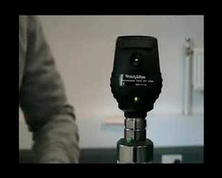 Fundoscopy  2 - Equipment - Ophthalmoscope