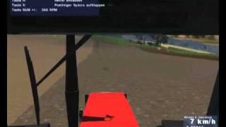 Landwirtschafts Simulator 2009 Uprawa roli i siew