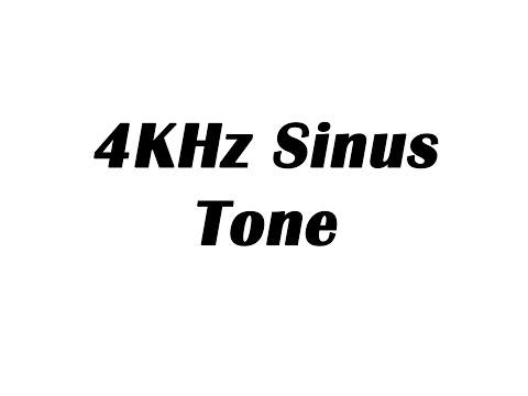 4KHz Sine Wave Test Tone (1 Hour)