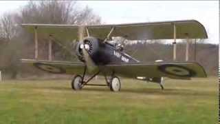 First flight of an Aidrome Aeroplanes Sopwith PUP