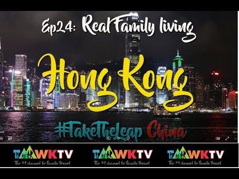 Ep24 [Hong Kong] Family living [CHINA] Travel Family TaawkTV