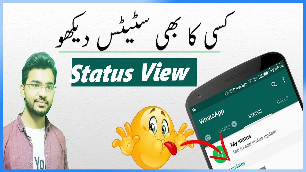 Check Whatsapp Status Without Number