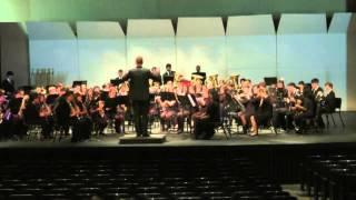 Marche des Parachutistes Belges: Homestead Symphonic Band at CMEA 2013