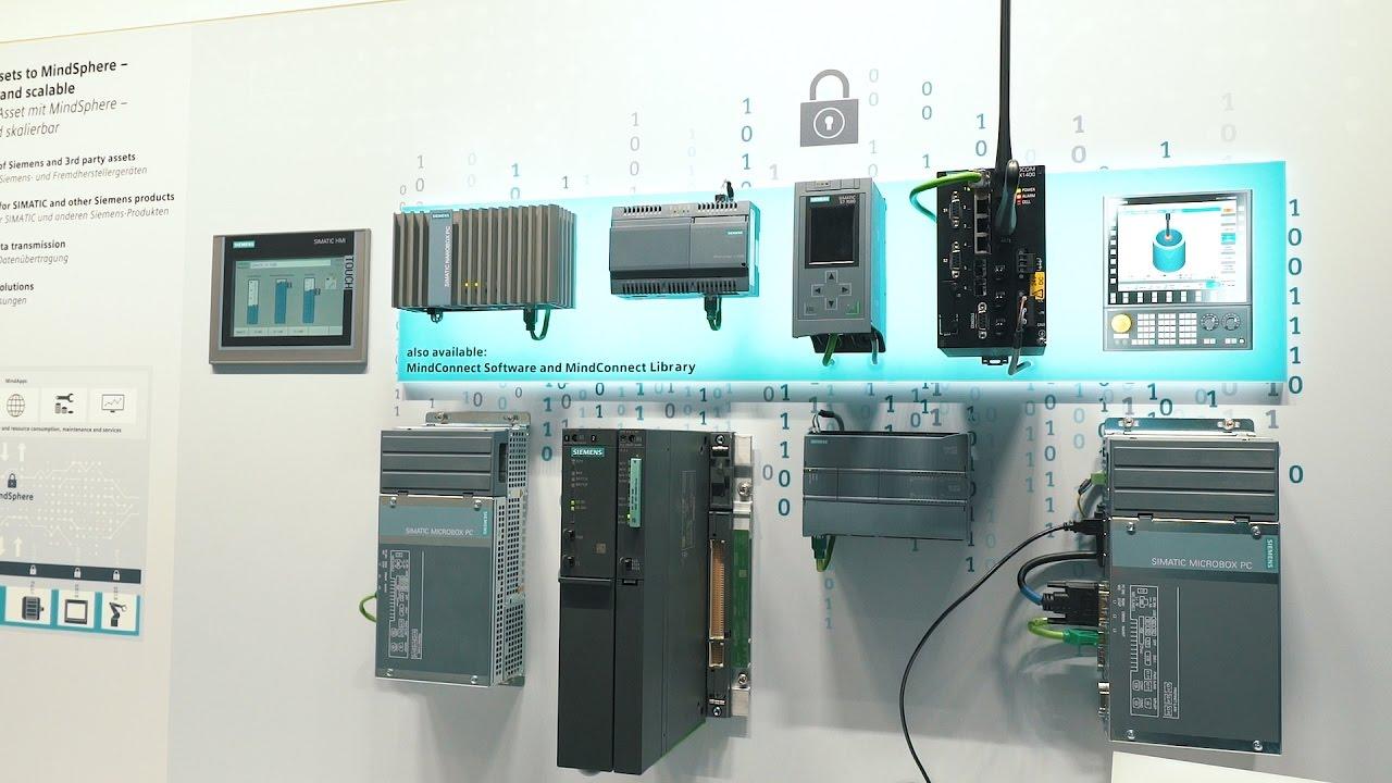Siemens Hannover Messe 2017 - MindSphere, das cloudbasierte, offene  IoT-Betriebssystem