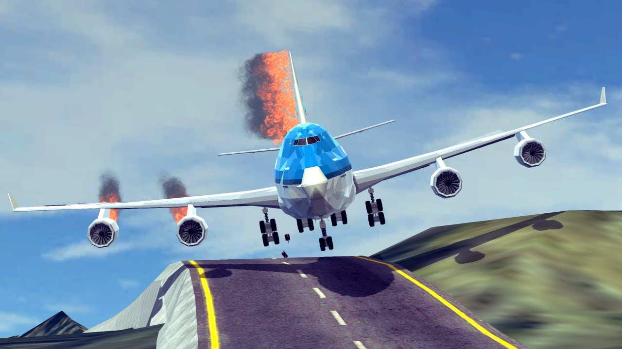 Emergency Landings #41 How survivable are they? | Besiege